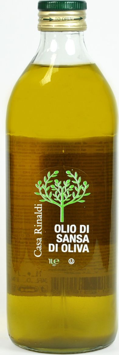 Casa Rinaldi Масло оливковое рафинированное Sansa, 1 л (стекло) casa rinaldi маслины гигантские bella di cerignola ggg dop 590 г