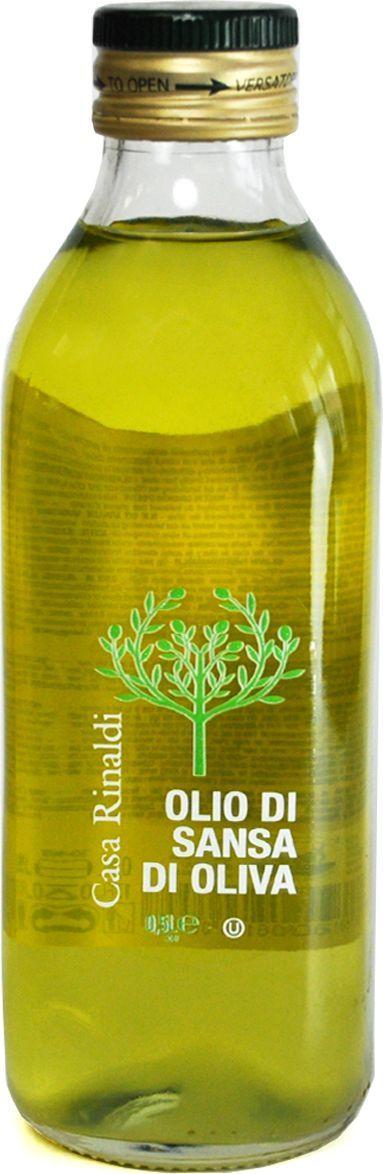Casa Rinaldi Масло оливковое рафинированное Sansa, 500 мл (стекло)