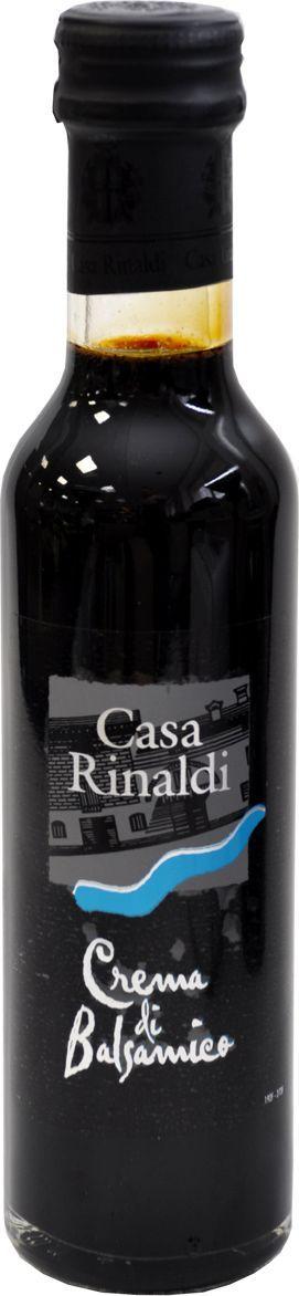 Casa Rinaldi Крем бальзамический черный IGP, 250 мл, бут.Чезена casa rinaldi кофе молотый супер арабика натуральный 250 г