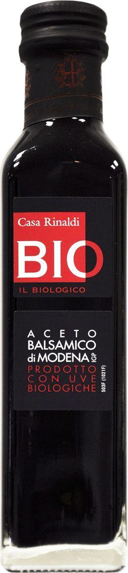 Casa Rinaldi Уксус бальзамический БИО, 250 мл0.0106.0879Уксус винный бальзамический, концентрированное виноградное сусло, выдержанное в бочках из ценных пород дерева. Кислотность 6%. Употребляется как заправка к различным блюдам. Хранить при t от 0С до +25С.
