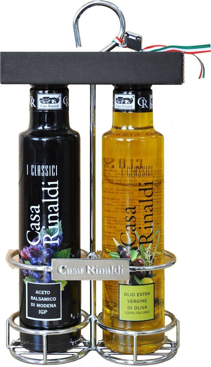 Натуральное оливковое масло полученное механическим способом. Кислотность < 0.8%. Употребляется как заправка к блюдам, салатам и овощам. Допустим естественный осадок. уксус винный бальзамический из Модены I.G.P.(95%), концентрированное виноградное сусло. Хранить при t от 0 С до 25 С.