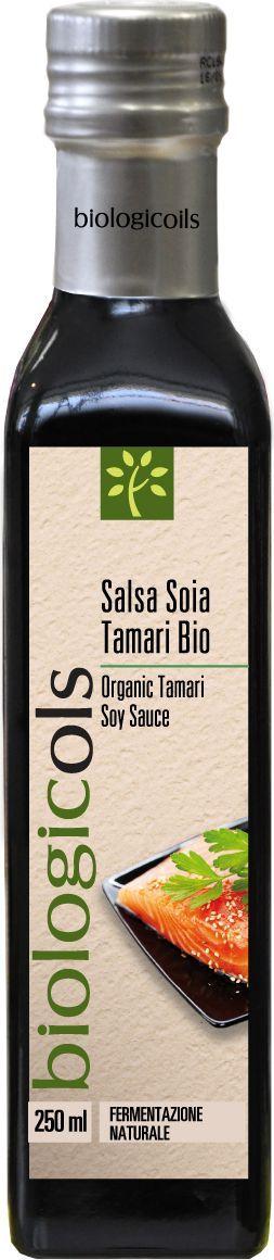 Biologicols БИО Соус соевый Tamari, 250 мл biologicols био уксус яблочный 500 мл