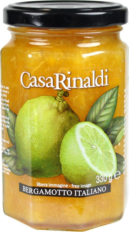 Casa Rinaldi Конфитюр из бергамота, 330 г хлеб