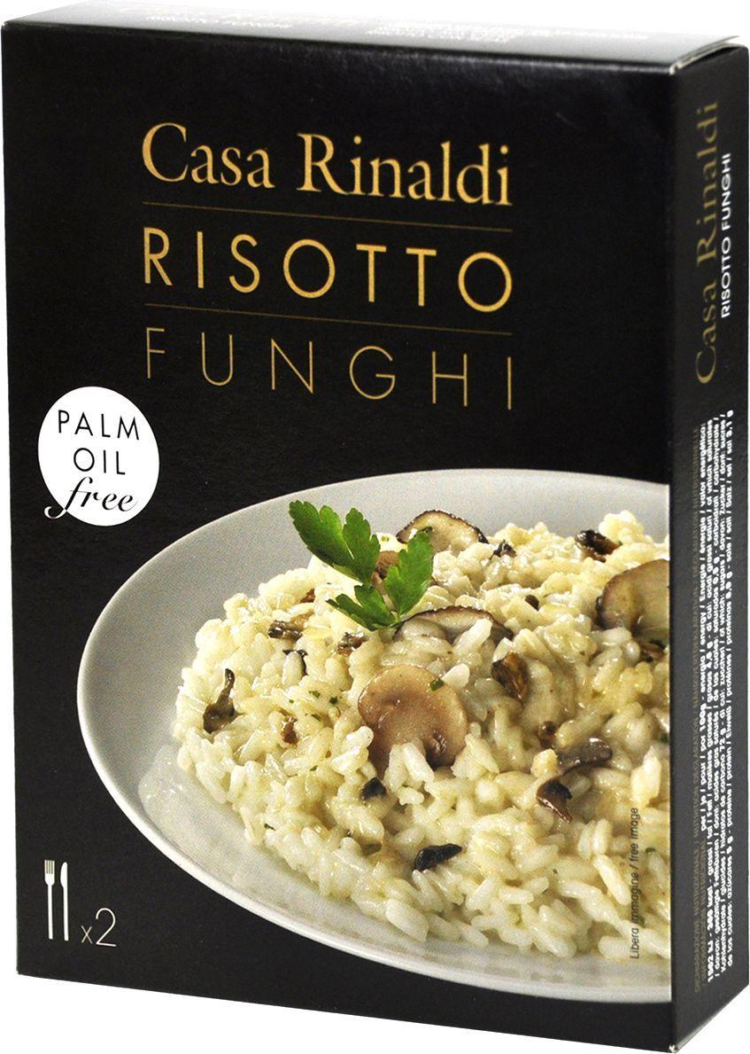 Casa Rinaldi Ризотто с белыми грибами, 175 г casa rinaldi рис венере среднезерный не шлифованный 500 г