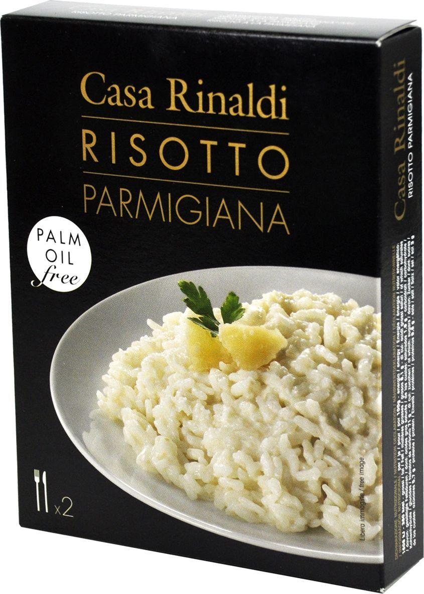 Casa Rinaldi Ризотто с пармезаном, 175 г националь рис круглозерный ризотто 500 г