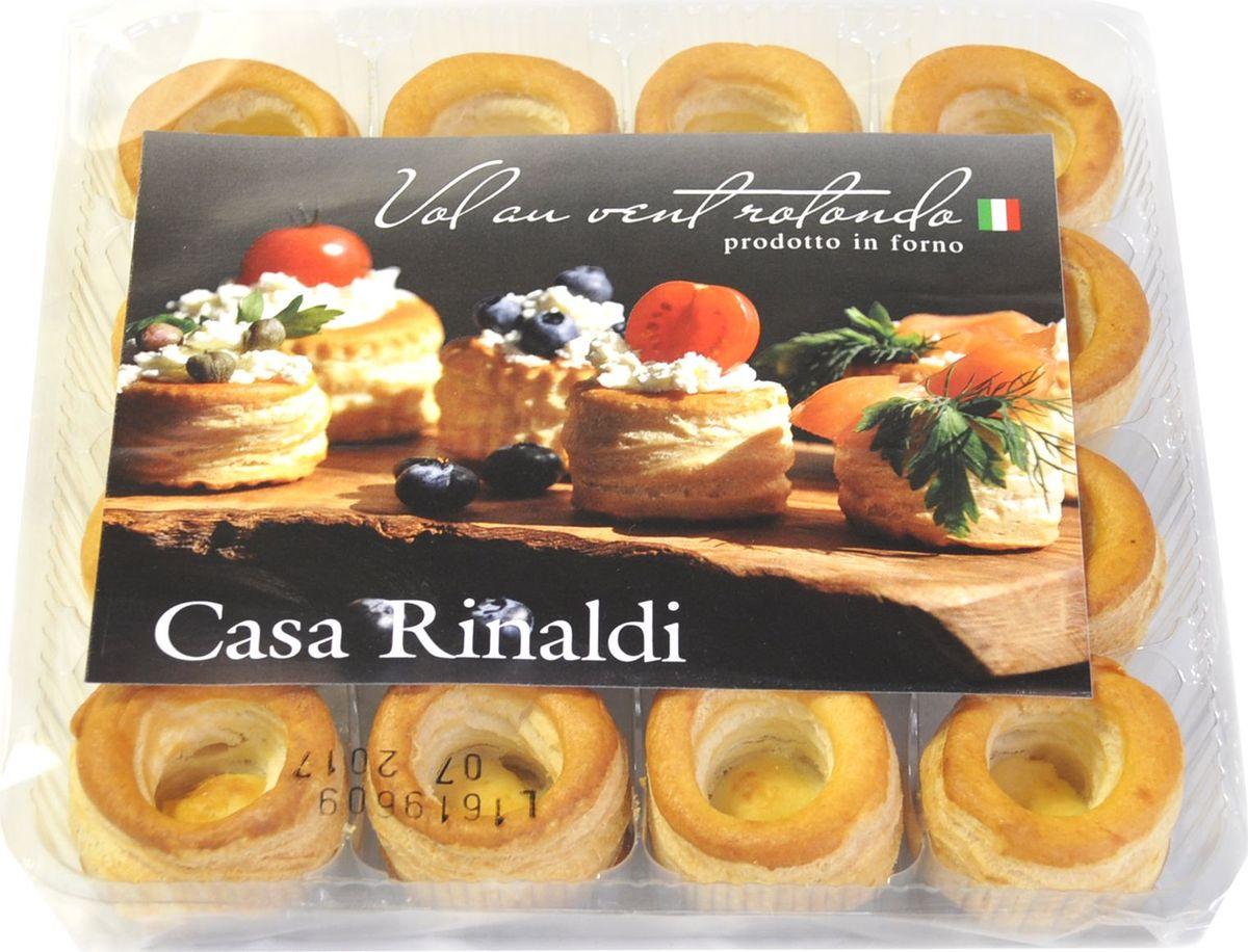 Casa Rinaldi Тарталетки круглые диаметр 38мм, 150 г casa rinaldi рис венере среднезерный не шлифованный 500 г