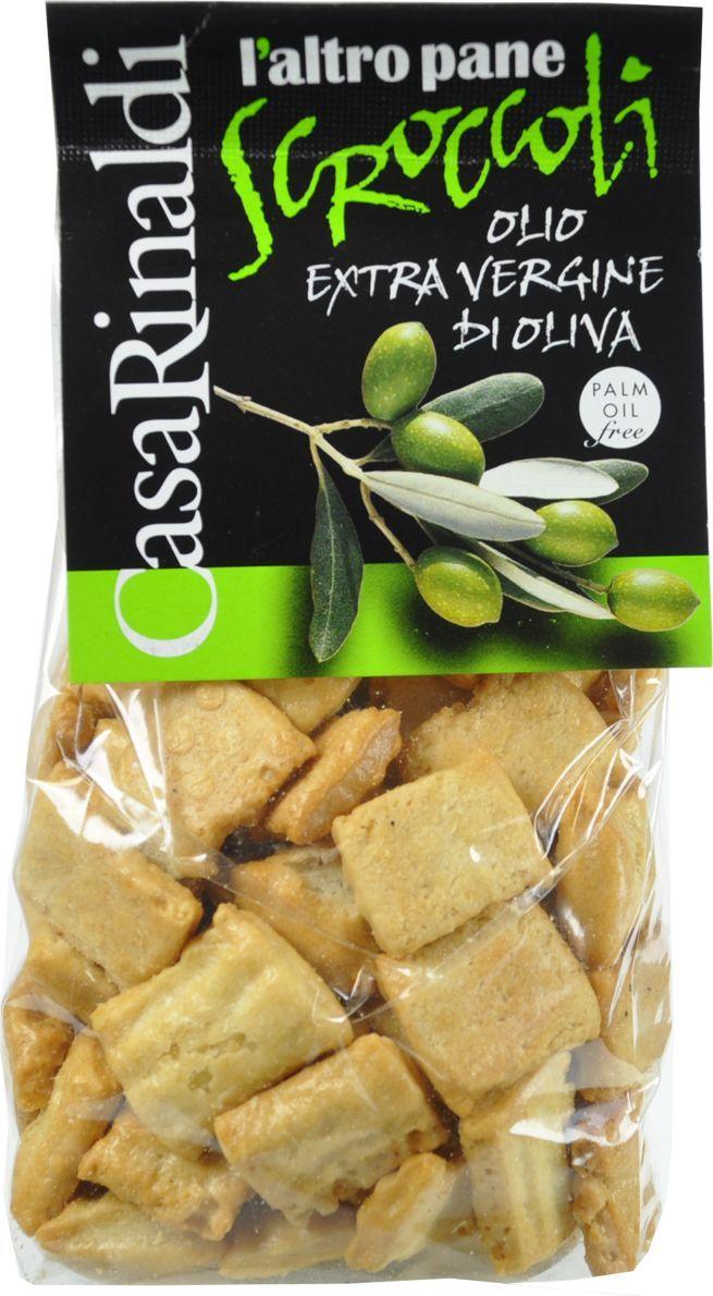 Casa Rinaldi Хлебцы Скрокколи с оливковым маслом, 300 г casa rinaldi паста пенне без глютена из кукурузной и рисовой муки 500 г