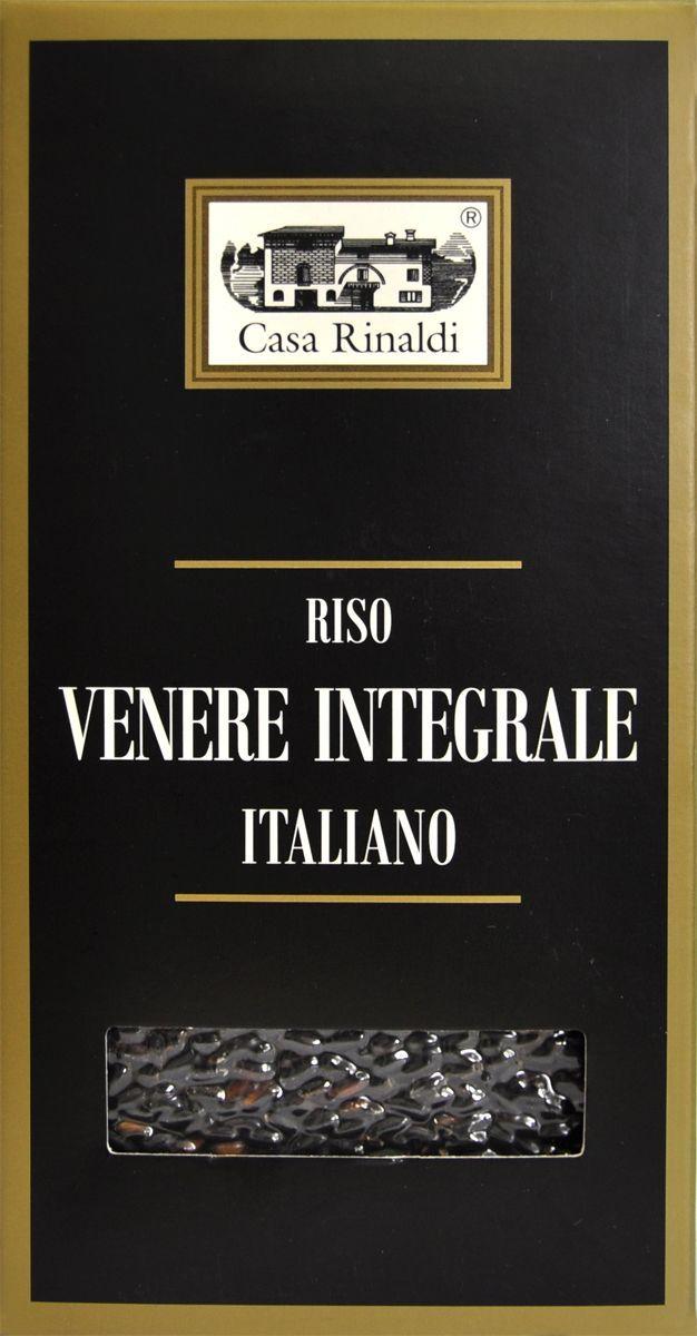 Casa Rinaldi Рис Венере среднезерный не шлифованный, 500 г casa rinaldi рис венере среднезерный не шлифованный 500 г