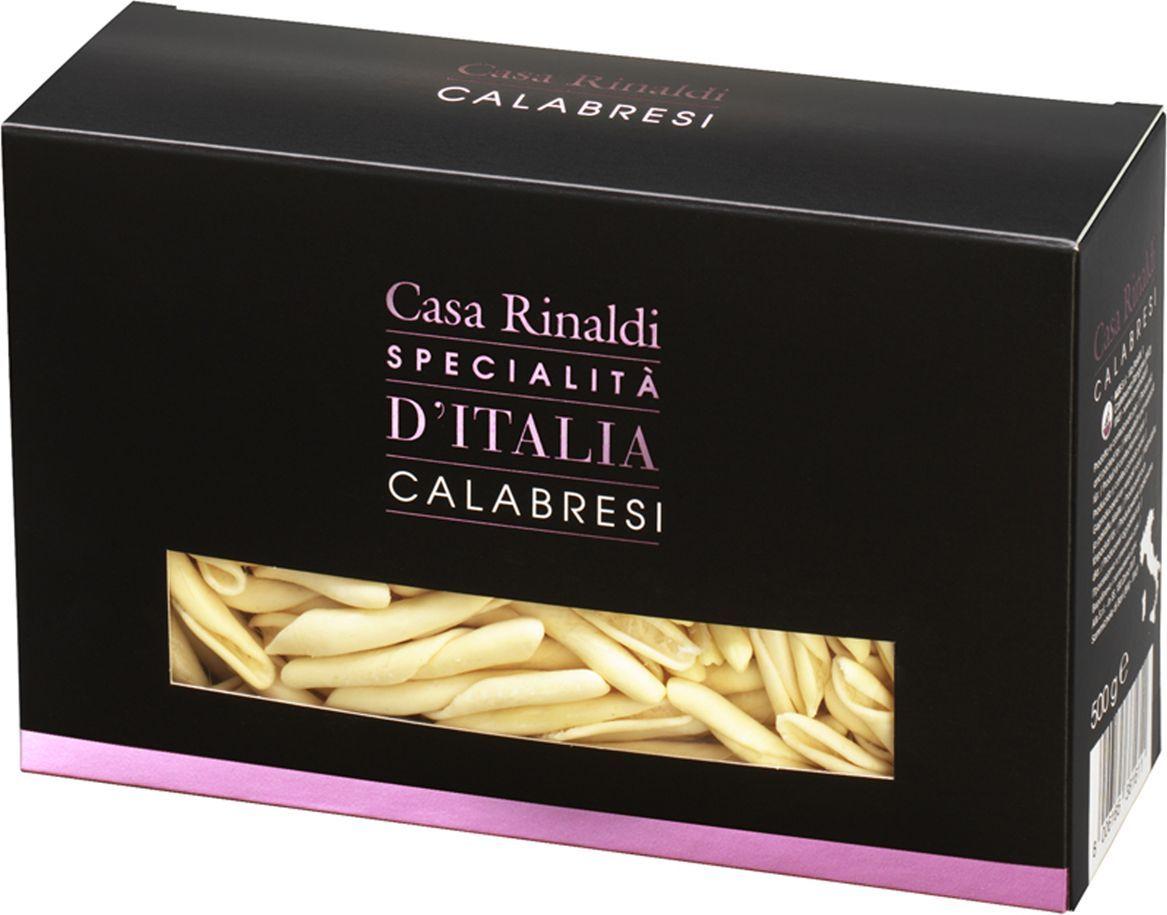 Casa Rinaldi Паста Калабрийская ручной работы, 500 г casa rinaldi паста пенне без глютена из кукурузной и рисовой муки 500 г