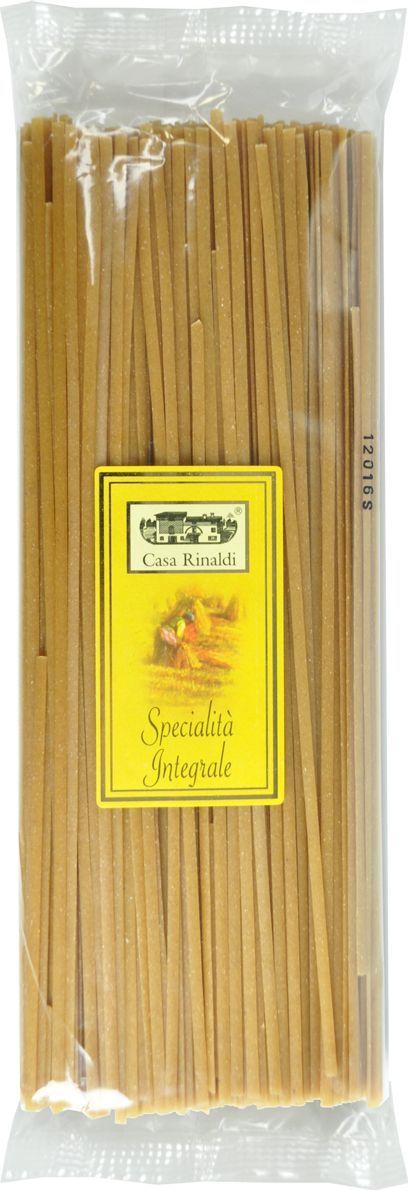 Casa Rinaldi Паста Лингвини из непросеянной муки, 500 г casa rinaldi паста фузилли без глютена из кукурузной и рисовой муки 500 г