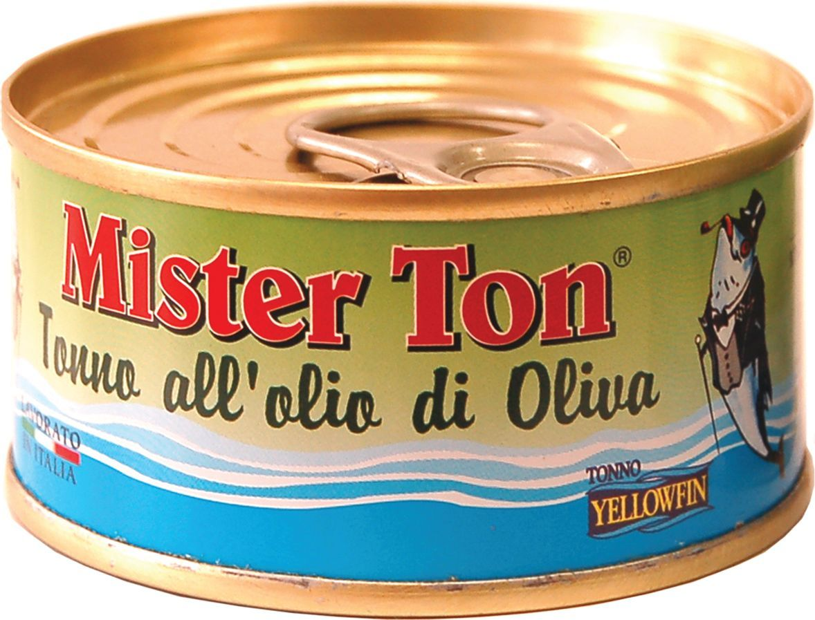 Callipo Мистер Тон Тунец Иелоуфин в оливковом масле, 80 г0.2274.0047Тунец Иелоуфин — рыба восхитительного нежно-красного цвета и не менее восхитительного вкуса, чье мясо по вкусовым качествам сравнимо с молодой говядиной. Из всех разновидностей тунца — иелоуфин имеет самое низкое содержание жира. Тунец Иелоуфин в оливковом масле (Tonno Yelolowfin allolio E.V. oliva) добавляют в салаты и сэндвичи, на его основе также готовят соусы к курице, мясу и пасте. В любом виде тунец сохраняет свой нежный и изысканный вкус. Мясо тунца — богато фосфором, легко усваиваемыми белками, ненасыщенными жирными кислотами, витаминами A и B1, что делает его диетическим и здоровым продуктом. Это редкий виды рыбы, чьи полезные свойства не теряются при консервации. Хранить при t не выше +25°С. После вскрытия хранить при t от 0°С до +8С, желательно употребить в течение недели.