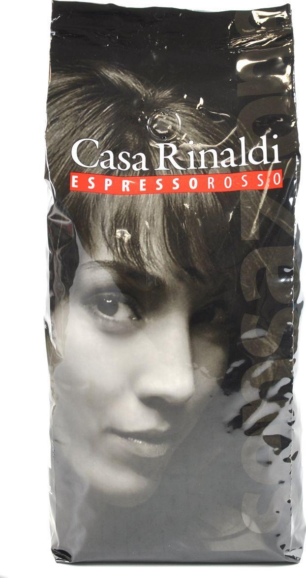 Casa Rinaldi кофе зерновой красный натуральный жареный, 1 кг