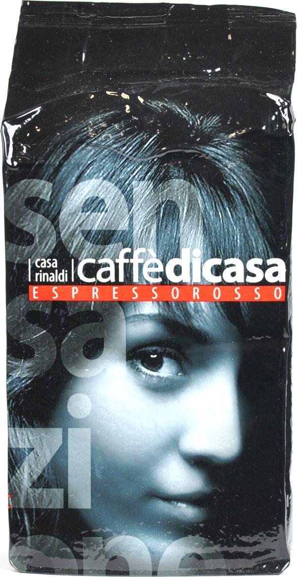 Casa Rinaldi Кофе молотый красный натуральный, 250 г casa rinaldi кофе молотый супер арабика натуральный 250 г