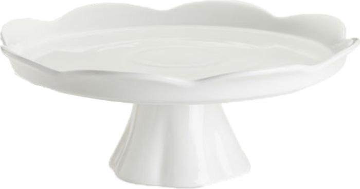 Подставка для торта Rosanna White Pedestal. 2483324833Сладкая жизнь обеспечена вам с посудой из коллекции White Pedestal, в которойразнообразие подставок, тарелок и крышек для сервировки тортов, пирожных идругих десертов поражает воображение. Все предметы коллекции сделаны изнастоящего фарфора, и силуэт каждой из них неповторим и очарователен.Упаковка тоже имеет индивидуальный дизайн, поэтому такая посуда будетидеальным подарком. Не рекомендуется использовать в микроволновой печи воизбежание появления трещин.