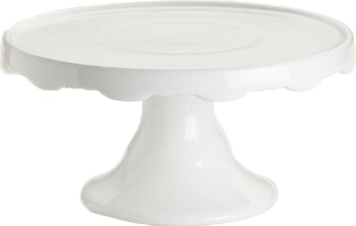 Подставка для торта Rosanna White Pedestal. 2483424834Сладкая жизнь обеспечена вам с посудой из коллекции White Pedestal, в которойразнообразие подставок, тарелок и крышек для сервировки тортов, пирожных идругих десертов поражает воображение. Все предметы коллекции сделаны изнастоящего фарфора, и силуэт каждой из них неповторим и очарователен.Упаковка тоже имеет индивидуальный дизайн, поэтому такая посуда будетидеальным подарком. Не рекомендуется использовать в микроволновой печи воизбежание появления трещин.