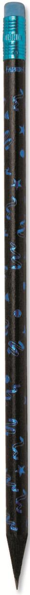 Faber-Castell Карандаш чернографитный Party с ластиком цвет голубой116873_голубойЧернографитовый карандаш Party с ластиком. Круглая форма - цвет корпуса - в ассортименте - твердость HB - легкое затачивание - специальная технология вклеивания (SV) предотвращает поломку грифеля