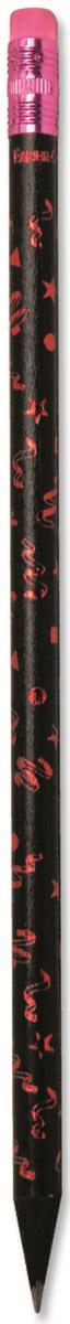 Faber-Castell Карандаш чернографитный Party с ластиком цвет розовый116873_розовыйЧернографитовый карандаш Partyс ластиком. Круглая форма- цвет корпуса - в ассортименте- твердость HB- легкое затачивание- специальная технология вклеивания (SV) предотвращает поломку грифеля