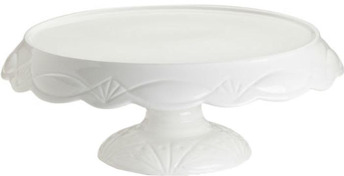 Подставка для торта Rosanna Le Gateau. 4253442534Сладкая жизнь обеспечена вам с посудой из коллекции Le Gateau, в которой разнообразие подставок, тарелок и крышек для сервировки тортов, пирожных и других десертов поражает воображение. Все предметы коллекции сделаны из настоящего фарфора, и силуэт каждой из них неповторим и очарователен. Упаковка тоже имеет индивидуальный дизайн, поэтому такая посуда будет идеальным подарком. Не рекомендуется использовать в микроволновой печи во избежание появления трещин.