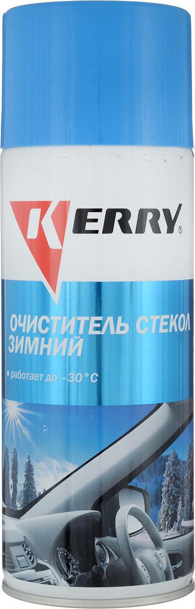 Очиститель стекол KERRY, зимний, 520 мл. KR-921 комоды berossi комод bongo 4 х секционный снежно белый романтика