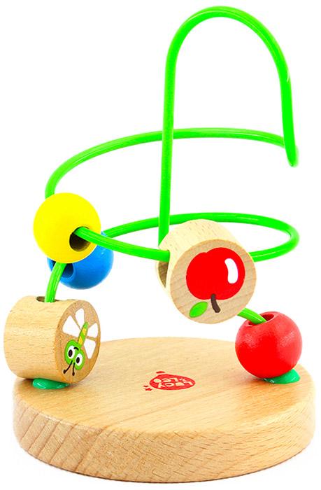 Игрушки из дерева Лабиринт №7 конструкторы игрушки из дерева трамвай