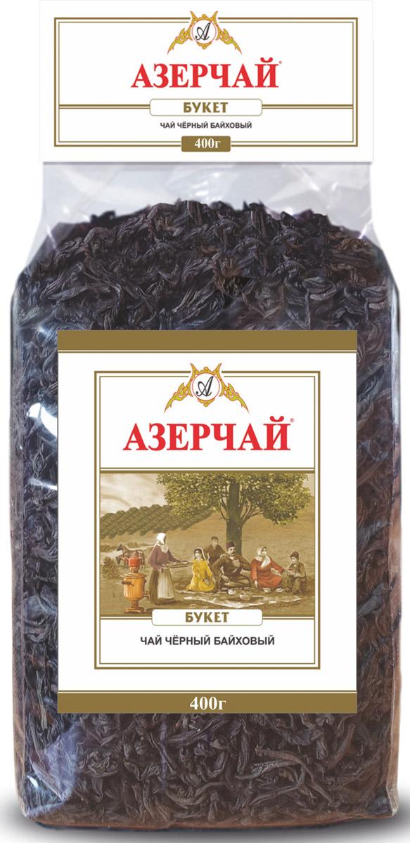 Азерчай Букет чай черный листовой, 400 г greenfield чай greenfield классик брекфаст листовой черный 100г