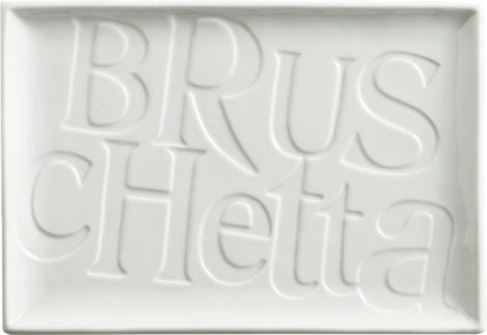 Тарелка для сервировки Rosanna Bruschetta85810