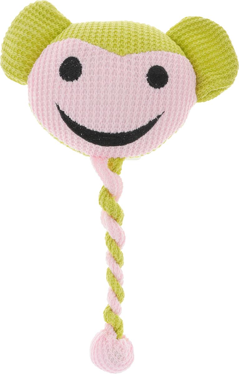 Игрушка для животных GLG Длинный хвост. ОбезьянаAT2530_зеленый,розовый-обезьянаМягкая игрушка для животных GLG Длинный хвост, выполненная из высококачественных материалов, оснащена пищалкой, что вызовет дополнительный интерес вашего питомца. Такая игрушка порадует вашего любимца, а вам доставит массу приятных эмоций, ведь наблюдать за игрой всегда интересно и приятно. Размер игрушки: 25 х 10,5 х 4 см.