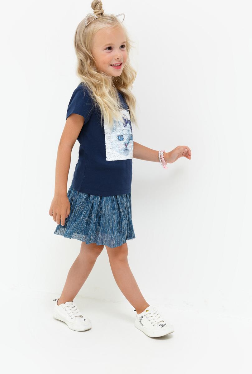 Юбка для девочки Acoola Nesquik, цвет: темно-синий. 20220180058_600. Размер 9220220180058_600Юбка-пачка для девочки от Acoola идеально подойдет вашей маленькой моднице. Модель, выполненная из полиэстера с подкладкой из хлопка и полиэстера. Пояс дополнен широкой эластичной резинкой. Такая юбка займет достойное место в гардеробе вашего ребенка.