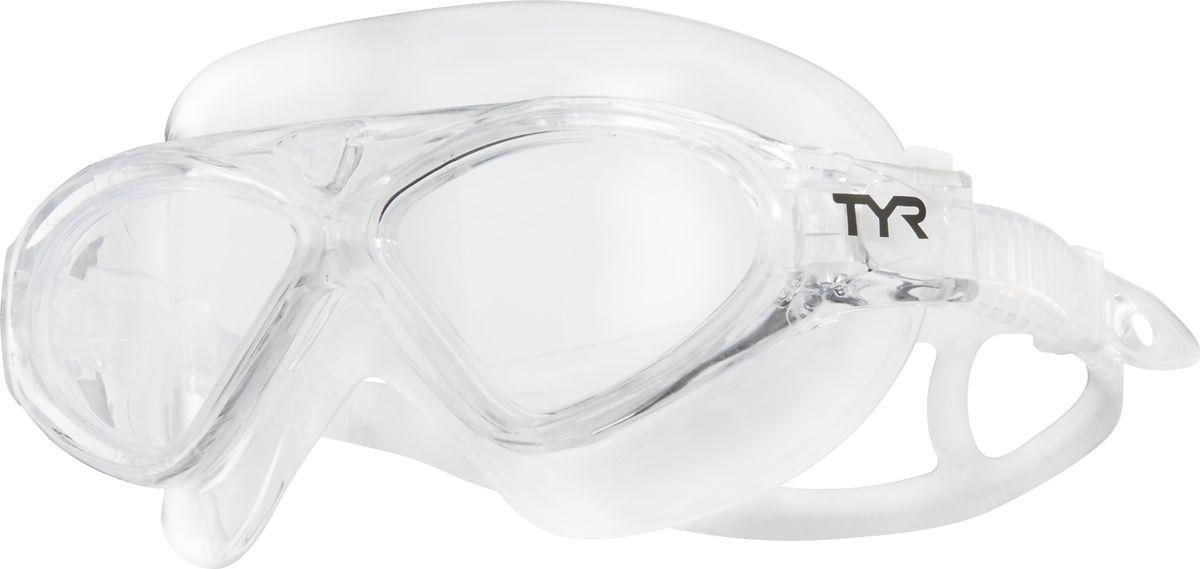 Маска для плавания Tyr Magna Swim Mask, цвет: прозрачный. LGMSMALGMSMAМаска TYR Magna Swim Mask отлично подойдет как для занятий спортом и отдыхом на открытой воде, так и для тренировок в бассейне. Широкие линзы обеспечивают четкий обзор под водой и защитят от ультрафиолетовых лучей. Уплотнитель и ремешок изготовленные из силикона, обеспечивают комфортную и удобную посадку маски. Легкая настройка маски позволит подобрать нужный вам размер.