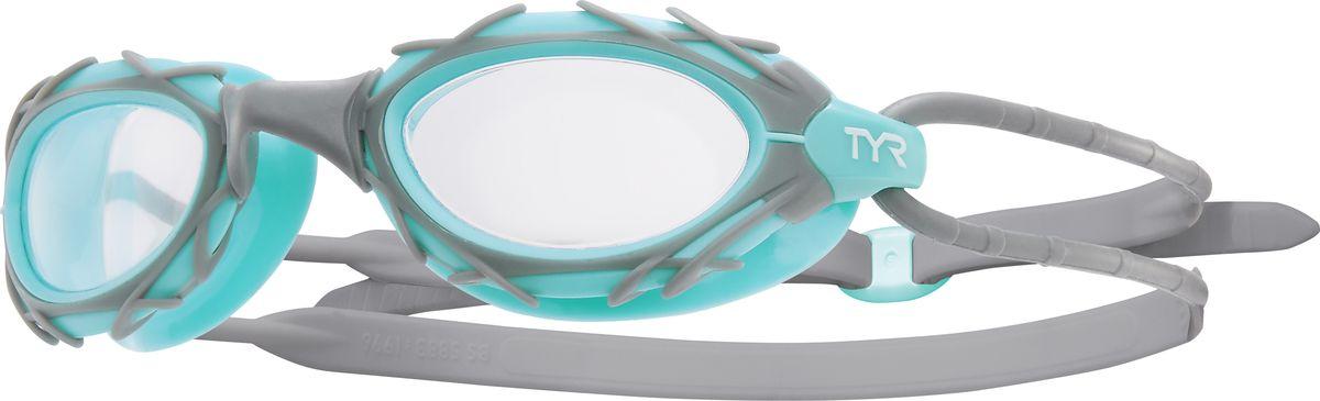 Очки для плавания TYR Nest Pro Nano, цвет: прозрачный, серый, ментоловый. LGNSTN браслеты ufus браслеты