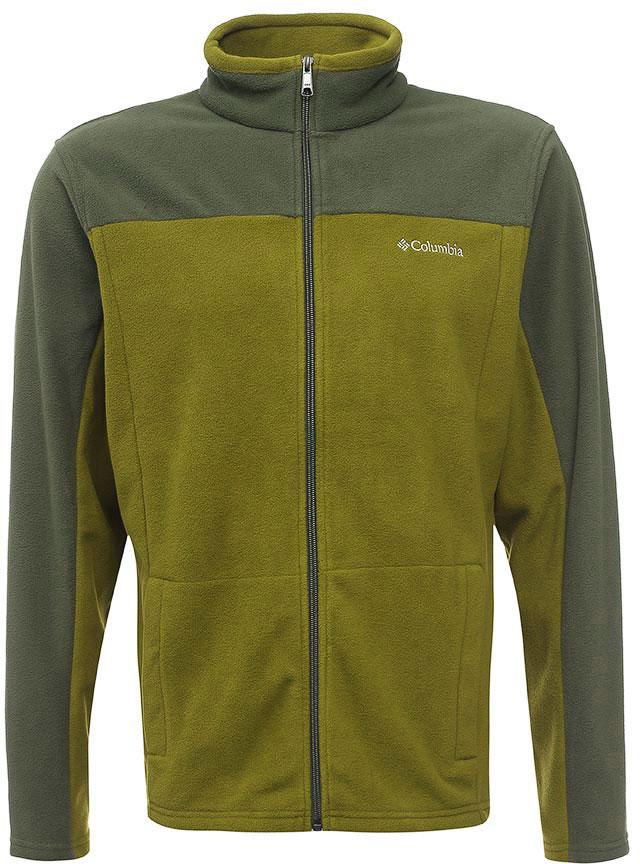 Толстовка мужская Columbia Western Ridge Full Zip M, цвет: оливковый, серый. 1736711-994. Размер S (44/46)