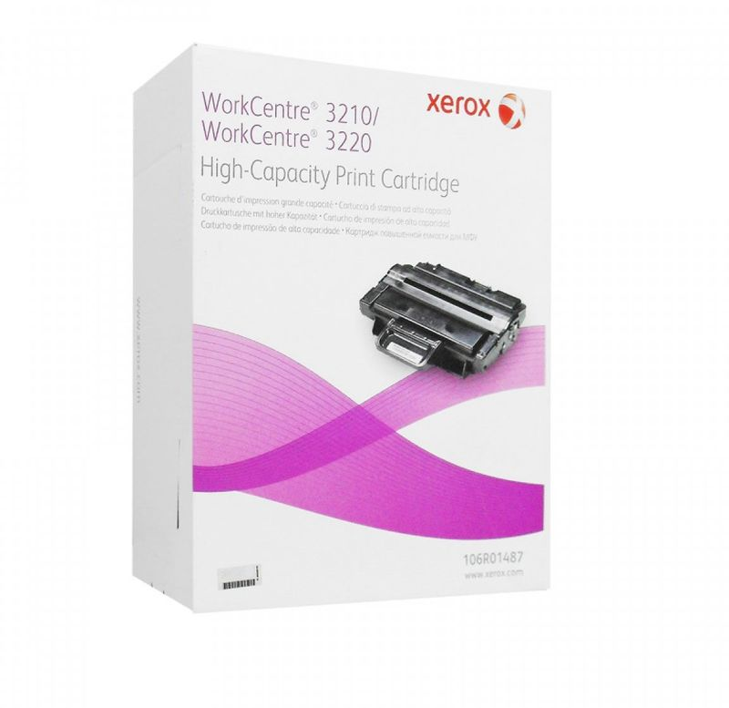 Xerox 106R01487, Black тонер-картридж для Xerox WorkCentre 3210/3220 картридж nv print совместимый с xerox 106r01487 для wc 3210 3220 4100k