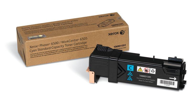 Xerox 106R01601, Cyan тонер-картридж для Phaser 6500/WorkCentre 6505106R01601Картридж лазерный Xerox 106R01601 идеально подходит для работы с Xerox Phaser 6500 / WorkCentre 6505. Он способен обеспечить печать 2500 страниц при использовании стандартной бумаги формата А4. Картридж изготовлен из качественных материалов и гарантирует работоспособность даже в условиях максимальной загрузки устройства. Картридж предназначен для печати голубым цветом и обеспечивает бесперебойную работу современного оборудования. Xerox 106R01601 ? это сочетание лучших материалов по доступной цене.