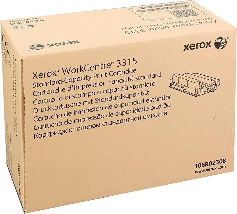 Xerox 106R02308, Black тонер-картридж для Xerox WorkCentre 3325 картридж scxd4200a
