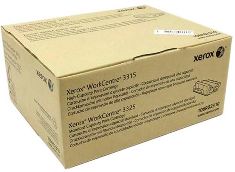 Xerox 106R02310, Black тонер-картридж для Xerox WorkCentre 3325 картридж для мфу xerox 013r00589 black