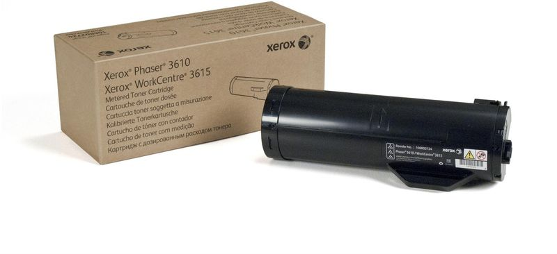 Xerox 106R02732, Black тонер-картридж для Xerox Phaser 3610/WorkCentre 3615 картридж для мфу xerox 013r00589 black