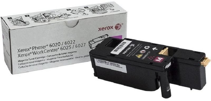 Xerox 106R02761, Magenta тонер-картридж для Xerox Phaser 6020, 6022/WorkCentre 6025, 6027