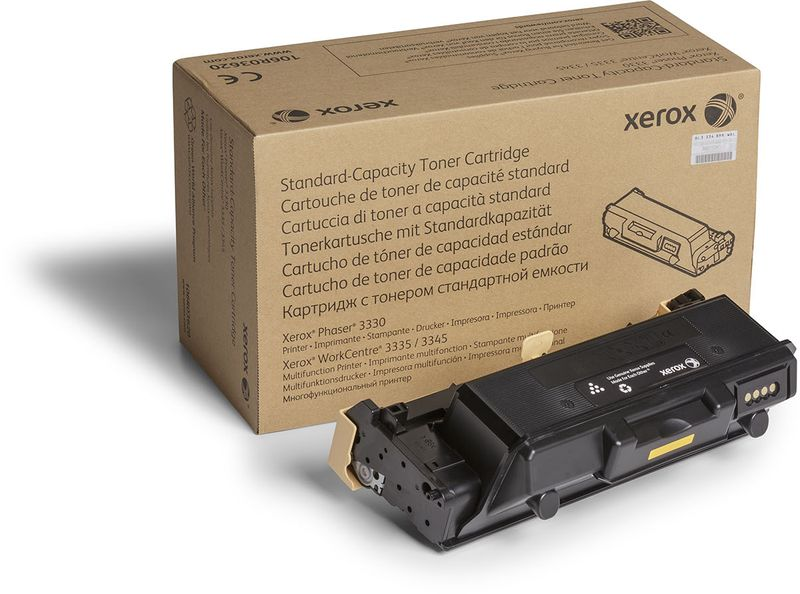 Xerox 106R03621, Black тонер-картридж для Xerox Phaser 3330/WorkCentre 3335, 3345 картридж для мфу xerox 013r00589 black