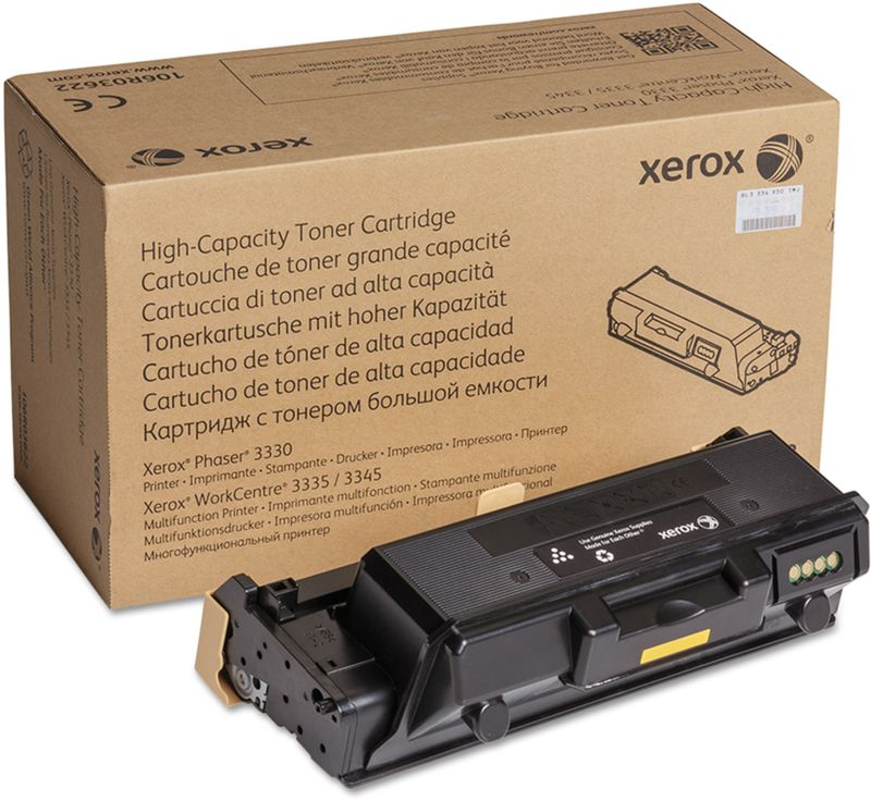 Xerox 106R03623, Black тонер-картридж для Xerox Phaser 3330/WorkCentre 3335, 3345 картридж для мфу xerox 013r00589 black