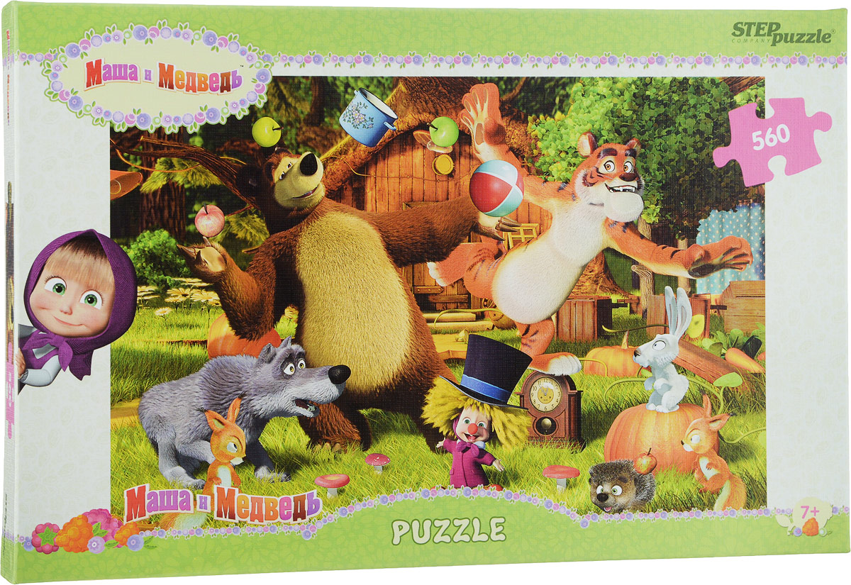 Step Puzzle Пазл Маша и Медведь 97018
