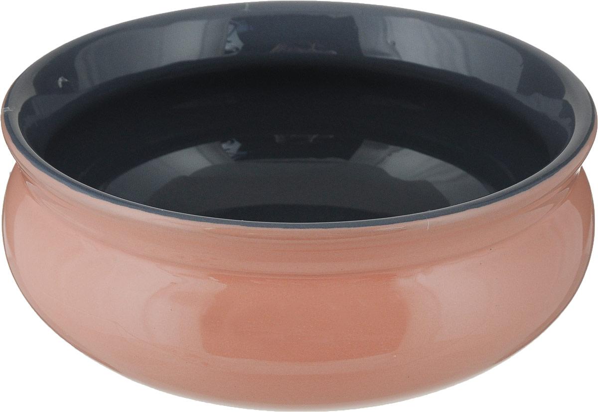 Тарелка глубокая Борисовская керамика Скифская, цвет: персиковый, серый, 500 млРАД14458194_персиковый, серыйГлубокая тарелка Борисовская керамика Скифская выполненаиз керамики. Изделие сочетает в себе изысканный дизайн смаксимальной функциональностью. Она прекрасно впишется винтерьер вашей кухни и станет достойным дополнением ккухонному инвентарю.Такая тарелка подчеркнет прекрасный вкус хозяйки и станетотличным подарком.Можно использовать в духовке и микроволновой печи.Диаметр тарелки (по верхнему краю): 14 см. Объем: 500 мл.