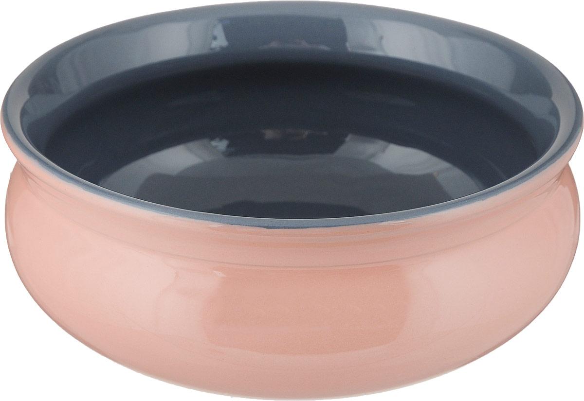 Тарелка глубокая Борисовская керамика Скифская, цвет: персиковый, серый, 500 млРАД14458194_персиковый, серыйГлубокая тарелка Борисовская керамика Скифская выполнена из керамики. Изделие сочетает в себе изысканный дизайн с максимальной функциональностью. Она прекрасно впишется в интерьер вашей кухни и станет достойным дополнением к кухонному инвентарю. Такая тарелка подчеркнет прекрасный вкус хозяйки и станет отличным подарком. Можно использовать в духовке и микроволновой печи.Диаметр тарелки (по верхнему краю): 14 см.