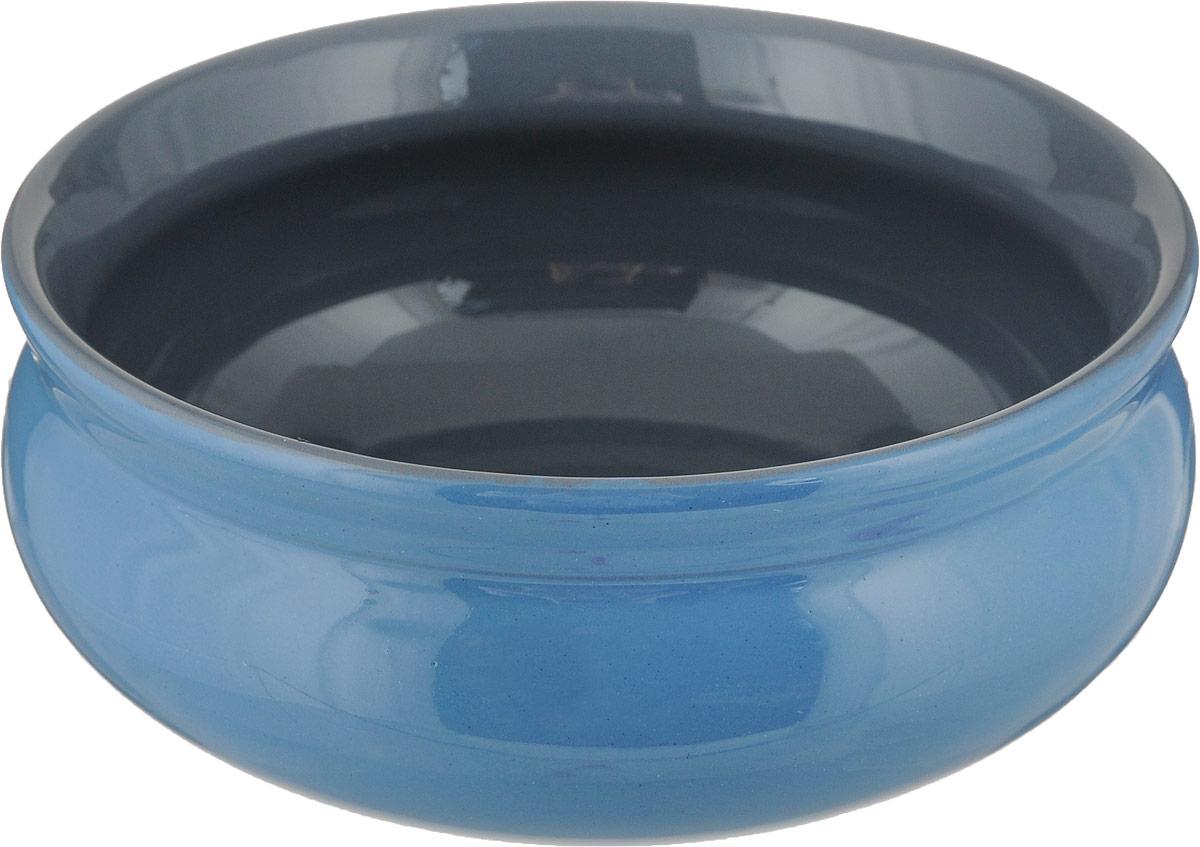 Тарелка глубокая Борисовская керамика Скифская, цвет: синий, серый, 500 млРАД14458194_синий, серыйГлубокая тарелка Борисовская керамика Скифская выполнена из керамики. Изделие сочетает в себе изысканный дизайн с максимальной функциональностью. Она прекрасно впишется в интерьер вашей кухни и станет достойным дополнением к кухонному инвентарю. Такая тарелка подчеркнет прекрасный вкус хозяйки и станет отличным подарком. Можно использовать в духовке и микроволновой печи.Диаметр тарелки (по верхнему краю): 14 см.Объем: 500 мл.