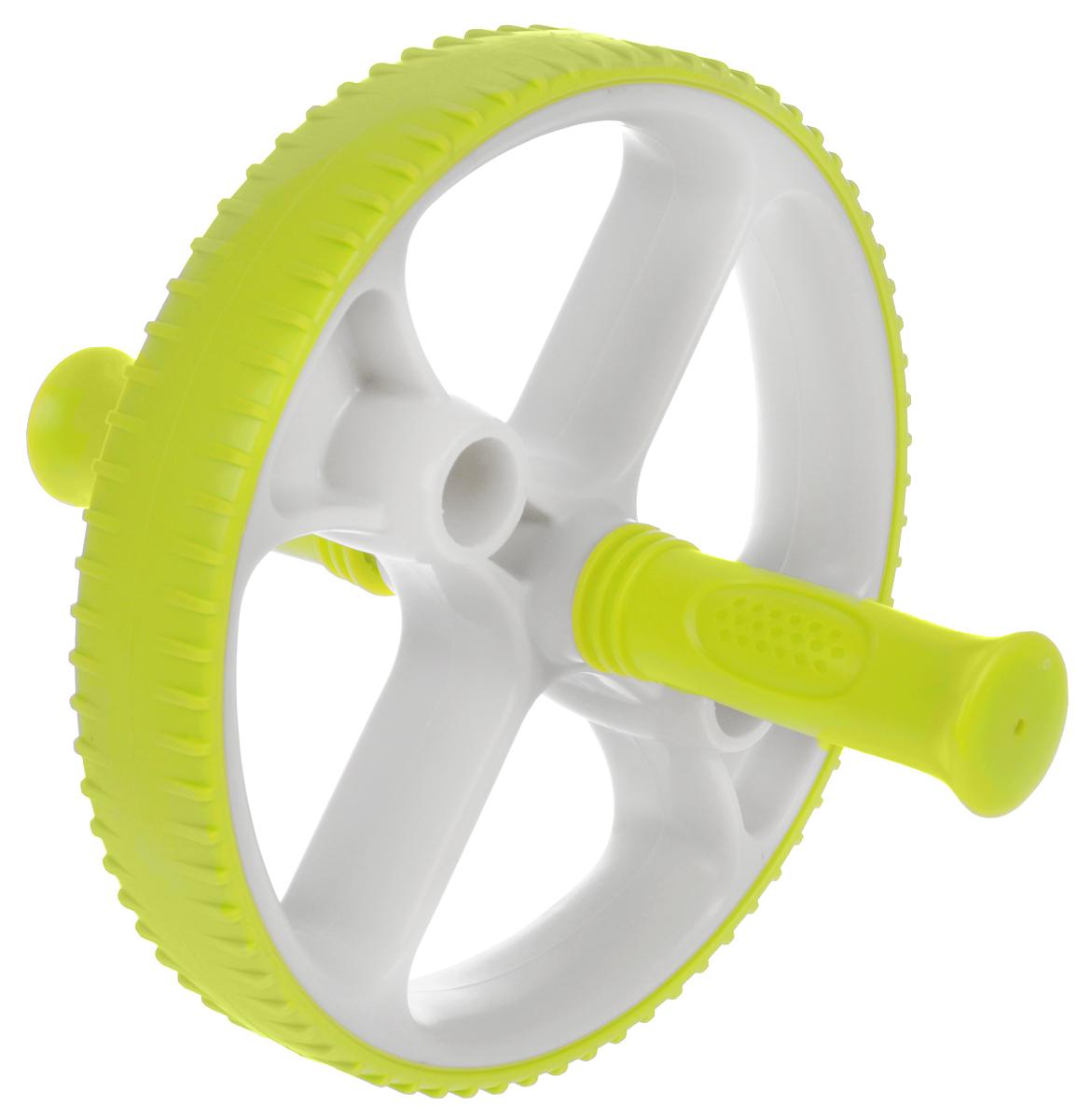 Ролик для пресса Ecowellness, со сменными ручками, цвет: зеленый, диаметр 22,5 см. QB-704G3-BQB-704G3-BЭтот прочный ролик для пресса изготовлен из термопластичной резины и идеально подходит для тренировки мышц нижней части живота, при этом так же тренируются мышцы пресса, спины, рук и плеч.Сменные рукоятки позволяют делать как простые, так и более сложные упражнения.Ролик имеет увеличенный диаметр - 22,5 см.