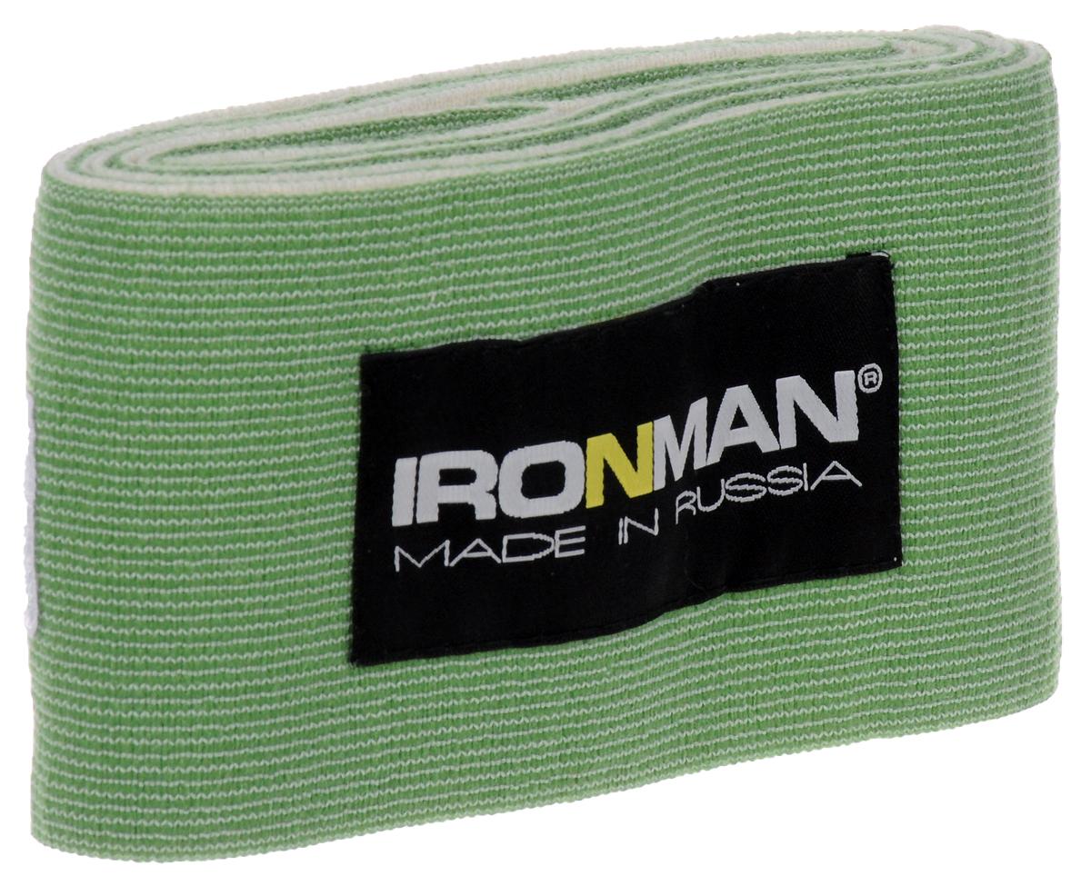 Страховка общего назначения Ironman, цвет: зеленый, 2 м4650069823599Специальные атлетические бинты Ironman предназначены для предохранения суставов и связок от травм во время занятий в зале. Бинты крайне необходимы, как в спорте, так и в фитнесе, особенно на силовых тренировках с максимальными нагрузками. Они обеспечивают большую прочность и безопасность, за счёт Компрессионной обмотки эластичных связок и сухожилий. Своей эластичной фиксацией вокруг сустава, они стабилизируют работающую конечность, страхуя её от растяжений и разрывов, во время выполнения упражнения. Бинты изготовлены из высококачественных материалов, которые удобны и безопасны в эксплуатации. Рекомендуем использовать их только при выполнении рабочих подходов, а между ними снимать, дабы не нарушить нормального кровотока периферических кровеносных сосудов.Уважаемые клиенты! Обращаем ваше внимание на возможные изменения в цветовом дизайне, связанные с ассортиментом продукции. Поставка осуществляется в зависимости от наличия на складе.