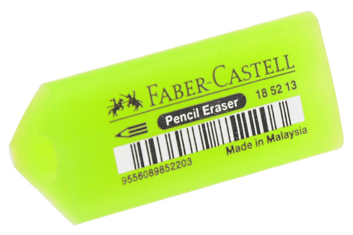 Faber-Castell Ластик-манжетка флуоресцентный цвет салатовый 185213185213_салатовыйЛастик Faber-Castell может быть использован в качестве манжетки для карандашей. У ластика эргономичная трехгранная форма, не содержит ПВХ.