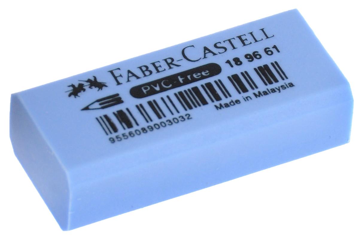Faber-Castell Ластик флуоресцентный цвет голубой 189661189661_голубойЛастик флуоресцентный• не содержит ПВХ – безопасен для детей• пригоден для графитных карандашей• 4 флуоресцентных цвета