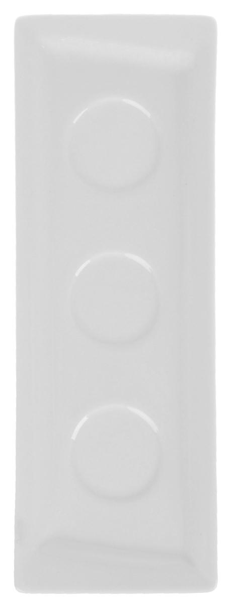 Подставка под специи Ariane ПраймAPRARN87003Подставка под специи Ariane Прайм изготовлена из экологически чистого сырья с соблюдением европейских стандартов качества. Подставка произведена из высококачественного фарфора, который отличается одновременно особой прочностью и легкостью, что делает посуду из фарфора наиболее востребованной в заведениях общественного питания. Элегантный дизайн придает фарфоровой посуде особую утонченность и изысканность. Предмет идеально подходит для сервировки как праздничного, так и повседневного стола.