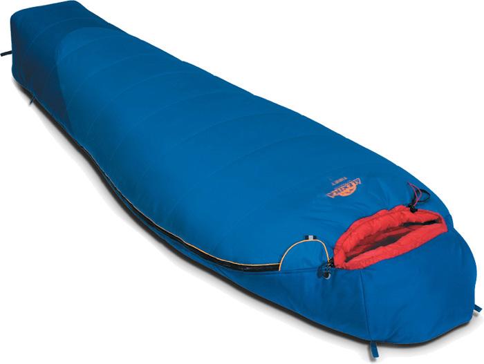 Спальный мешок Alexika Tibet, цвет: синий, левосторонняя молния. 9203.03052