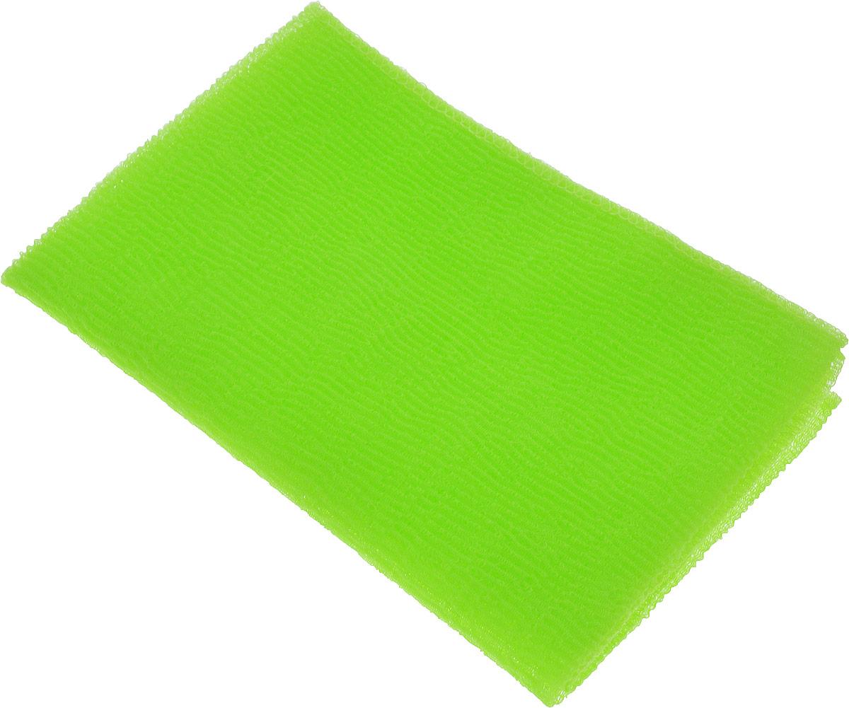 Мочалка-полотенце массажная Eva, цвет: салатовый, 90 х 30 смМ341Мочалка-полотенце массажная Eva, изготовленная из скраб-нейлона (многоволокнистой нейлоновой нити с объемным плетением), обладает высоким массажным эффектом. Мочалка с самым высоким уровнем жесткости обладает эффектом скраба, кожа становится чистой, упругой и свежей. Идеальна для профилактики и борьбы с целлюлитом. Мочалка создает обильную пену, быстро сохнет, не требует ухода, существенно экономит моющее средство и имеет длительный срок службы. Подходит для ухода за любым типом кожи.
